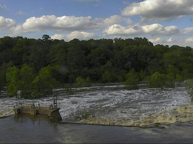 Tar River on April 26