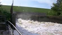 Water released from Falls Lake