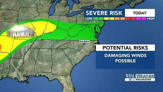 Severe weather threat, May 19, 2017