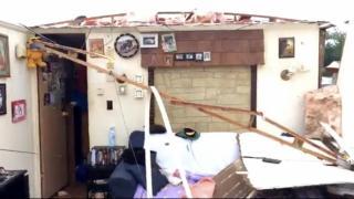 Man: Roof peeled off like a banana during NC tornado