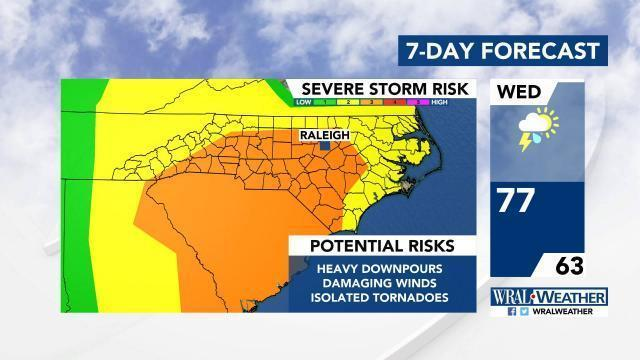 Severe Weather Alerts - DMA :: WRAL com