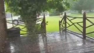 'Never seen it like this:' Hail in Rocky Mount