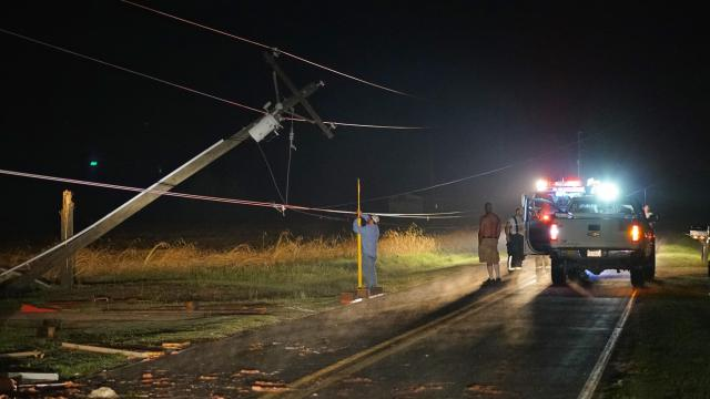 At least a dozen hurt in North Carolina storms