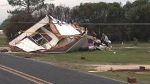 IMAGES: Homes destroyed, trees brought down in Sampson County storm