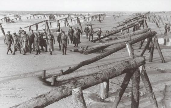 D-Day obstacles
