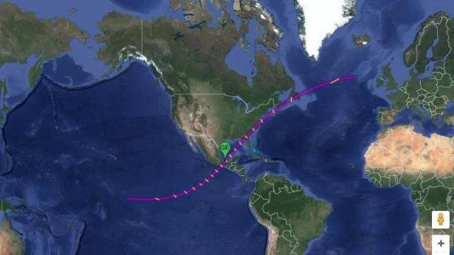 March 1970 total eclipse full path