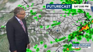 Fishel: Cold front brings weekend storms