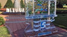 IMAGE: Poll: How long will the WRAL ice sculpture last?