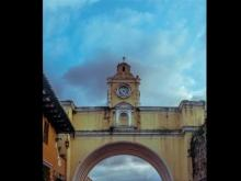 The beautiful Guatemalan city of Antigua