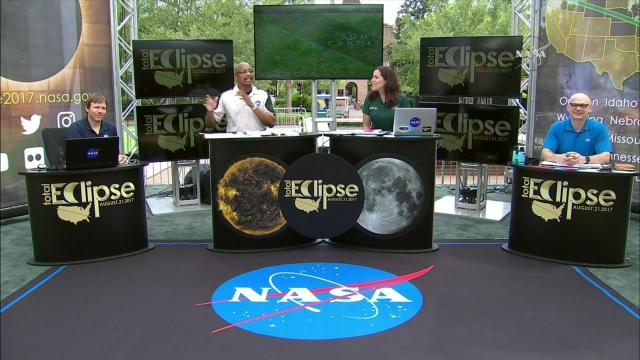 NASA's view: Total solar eclipse