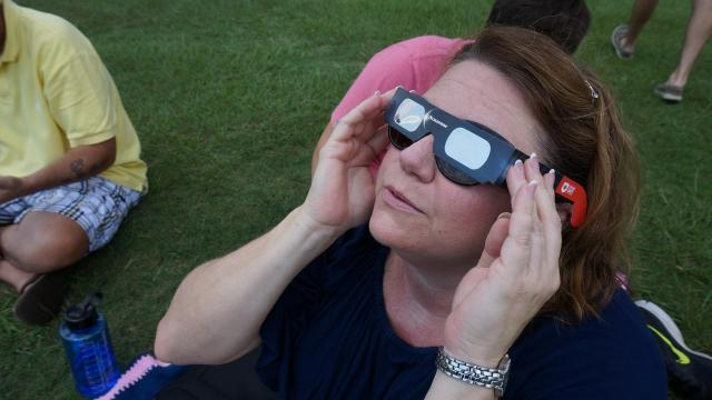 Seconds of exposure, permanent eye damage for woman who looked at eclipse