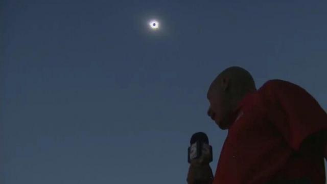 Gilbert Baez solar eclipse