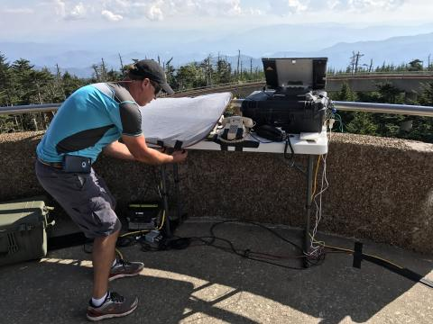 Setting up communications for eclipse coverage