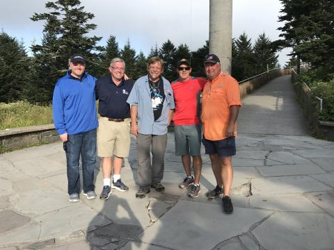 WRAL�s Clingmans Dome eclipse crew