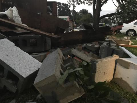 Storms cause damage in Johnston County