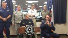 Texas governor holds presser on Harvey