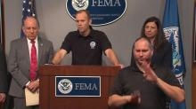 Officials deliver update on Harvey aid, response efforts