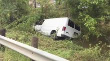 Crews locate van swept away by Harvey; 6 family members killed