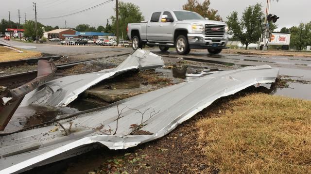 Damage in Sanford