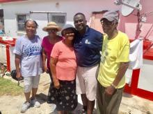 Ken Smith meets with parents on USVI
