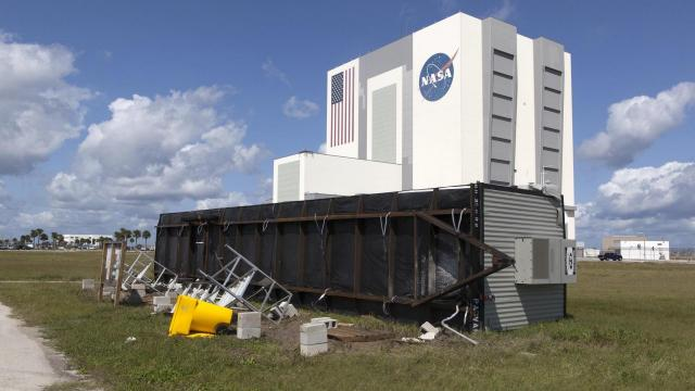 NASA's Florida sites damaged during Irma