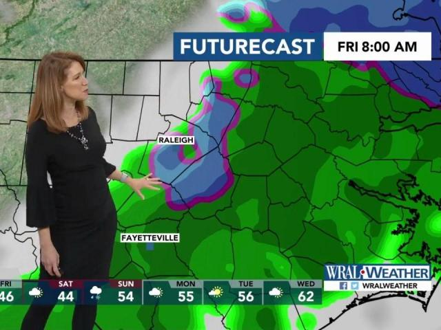Rain moves in late Thursday, early Friday :: WRAL com