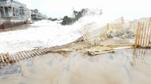 IMAGES: Nor'easter leaves some Outer Banks islands inaccessible