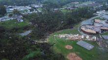IMAGES: Severe storms leave behind damage, death as they move east