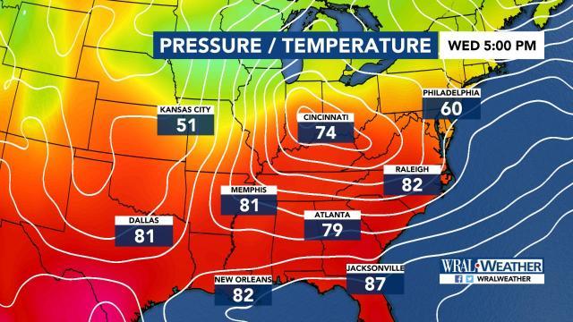 WRAL Weather Feed: Greg Fishel