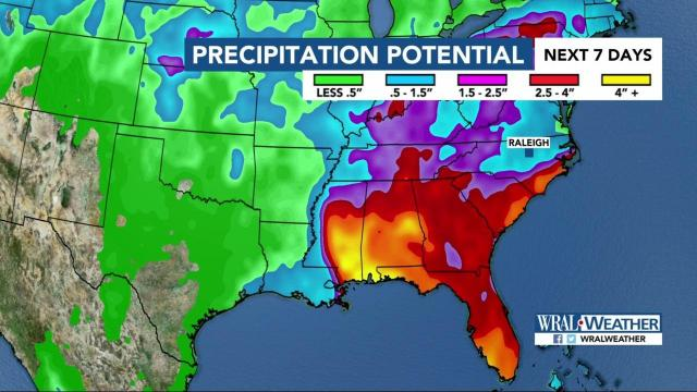 Tropical storm 2018: Florida faces heavy rain from Alberto within days