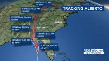 IMAGES: Florida readies for rain from Alberto