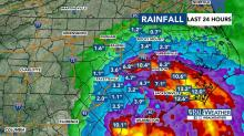 IMAGES: In the Triangle: Flood threat, rain, winds could last for days