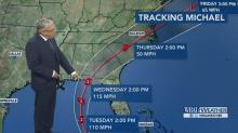 IMAGES: Hurricane Michael on track to bring wet, windy end to the week