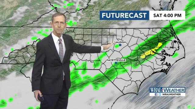 Weekend weather: Rainy today but cooler, drier air on the