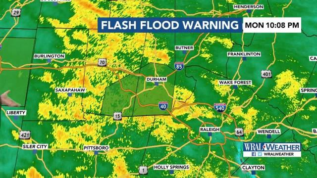 Flooding likely as rain continues in Triangle :: WRAL com