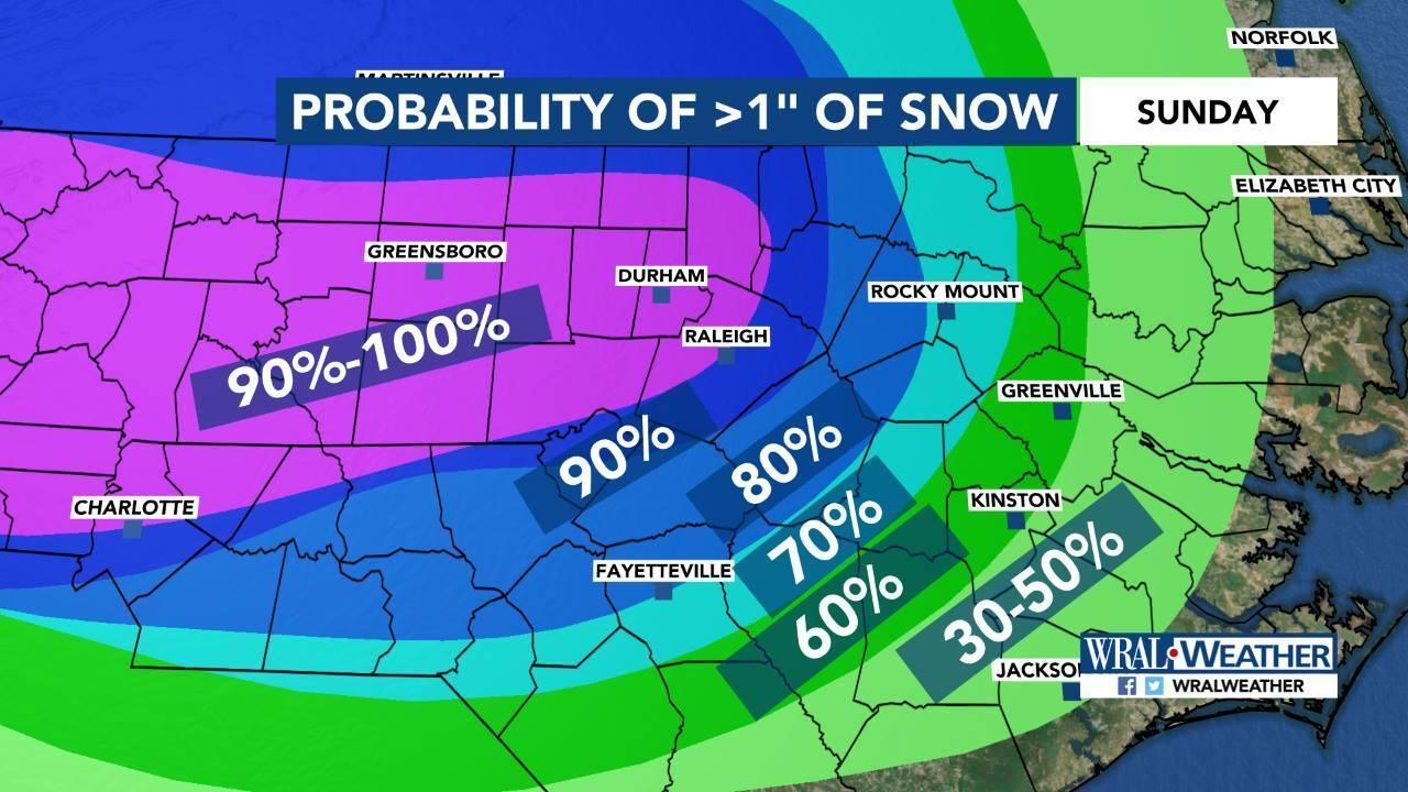 Winter weather 'likely' this weekend across Triangle :: WRAL com