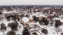 IMAGES: Snow blankets NC