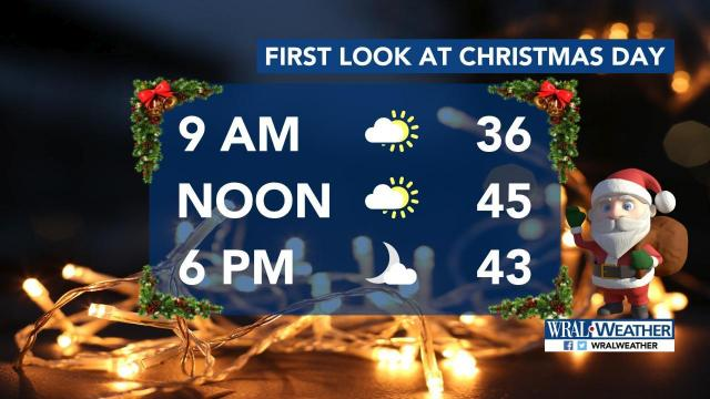 Merry and bright: Christmas will cool with plenty of sunshine