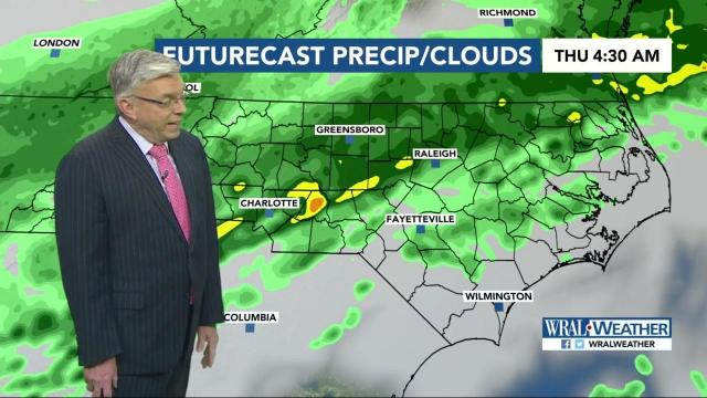 Wet weather on tap for Thursday :: WRAL com