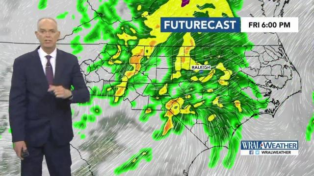 Soggy Friday expected to give way to dry Saturday :: WRAL com