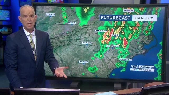 Storms rush across NC ahead of sunny Saturday :: WRAL com