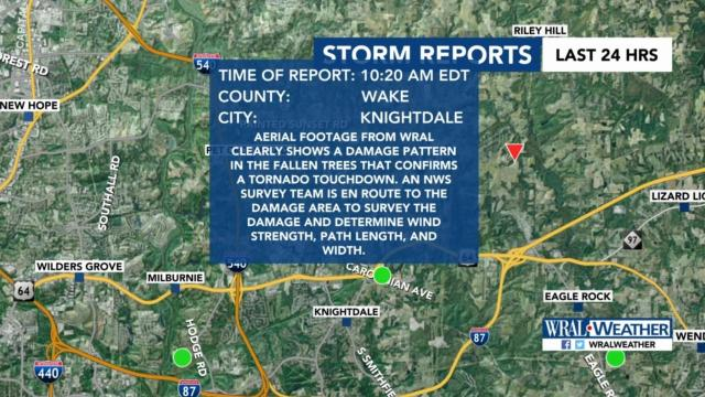 EF-2 tornado pounds eastern Wake County as storms rake