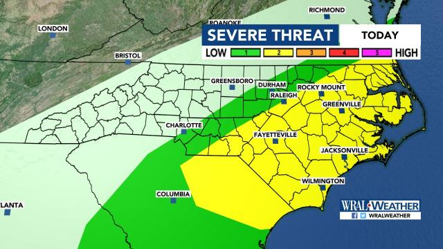 Treat tonight, tricks to come in Triangle weather forecast