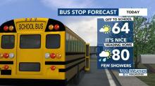 IMAGES: Cool fall weather starts the week, but summer temps return Wednesday