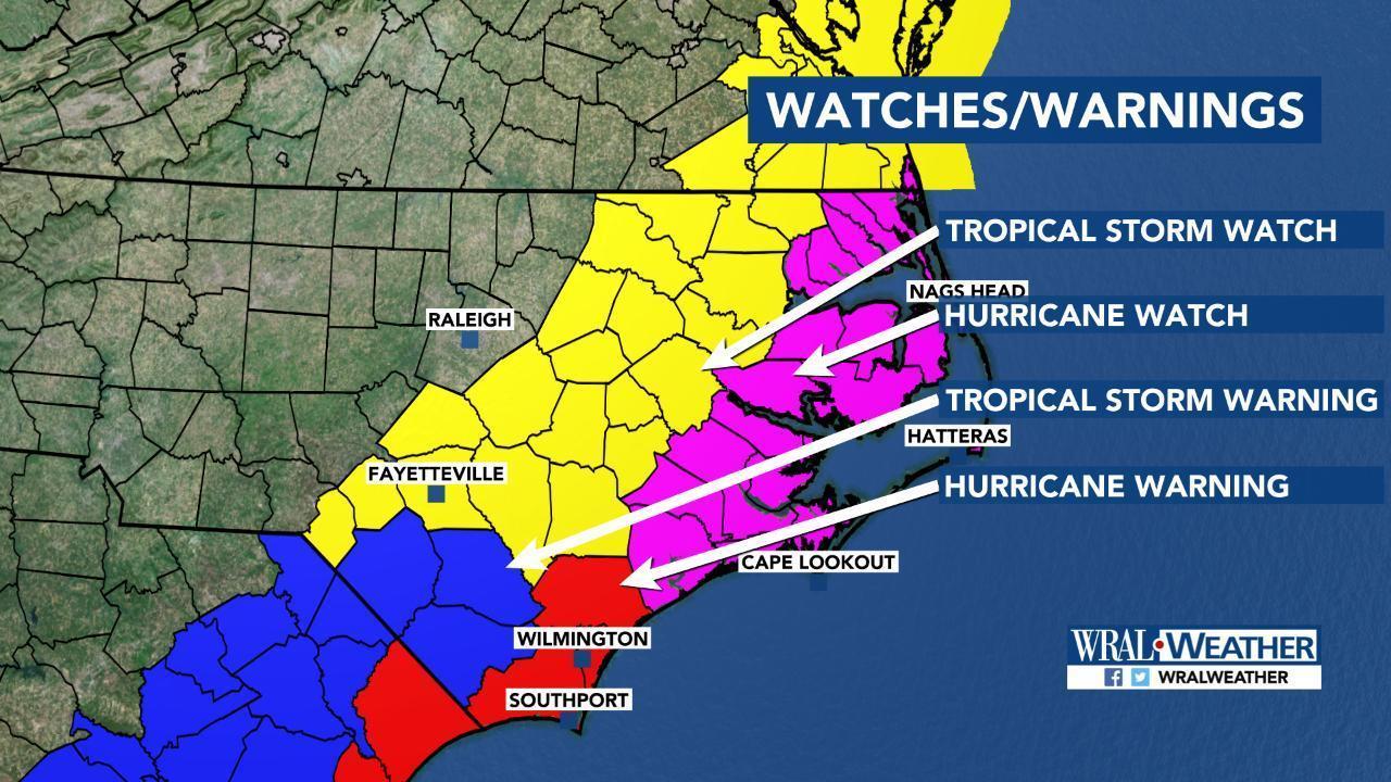 Hurricane Dorian: Cooper orders evacuation of all barrier