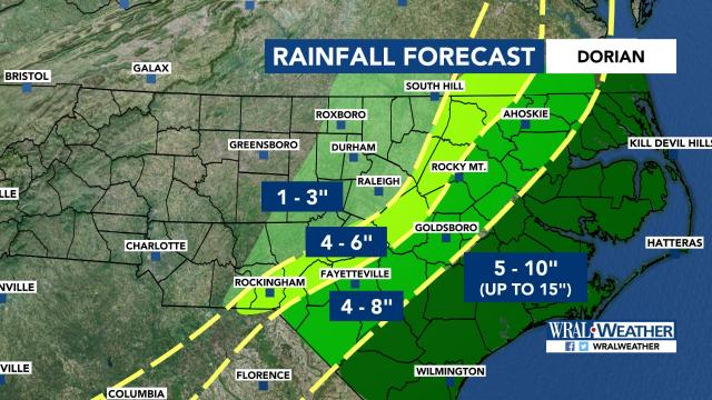 Weather Forecasts in Raleigh, Durham, Fayetteville from WRAL