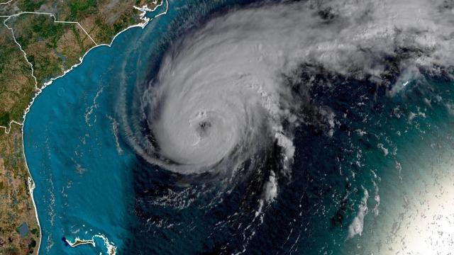 Hurricane Humberto is a Category 3 storm as it rumbles toward Bermuda