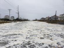Severe weather pounds Outer Banks