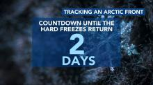 IMAGES: Countdown to freezing weather: 20 degree temps on the way