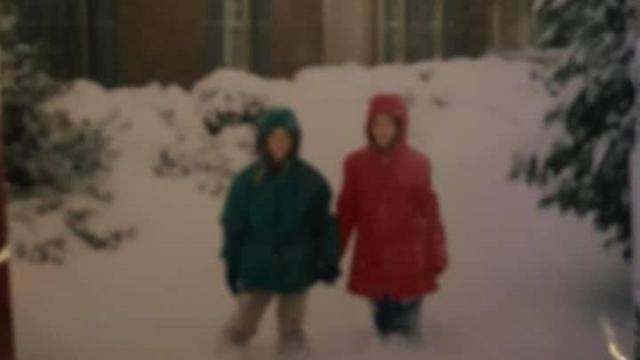Home photo of the snowstorm of 2000
